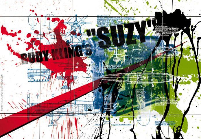 Aviation Artworks Kunst_Grafik-Aviation_Artwork_Luftfahrt-Rudy_Klings_Suzy-©_Carsten_A_Saupe_CeSa-Quotor_Design