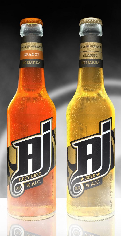 Label Design AJ-Malt-Drink-Flaschen-v3-©-Carsten-A-Saupe-CeSa-Quotor-Design-Berlin