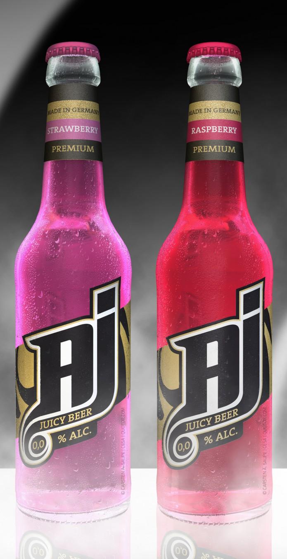 Label Design AJ-Malt-Drink-Flaschen-v4-©-Carsten-A-Saupe-CeSa-Quotor-Design-Berlin