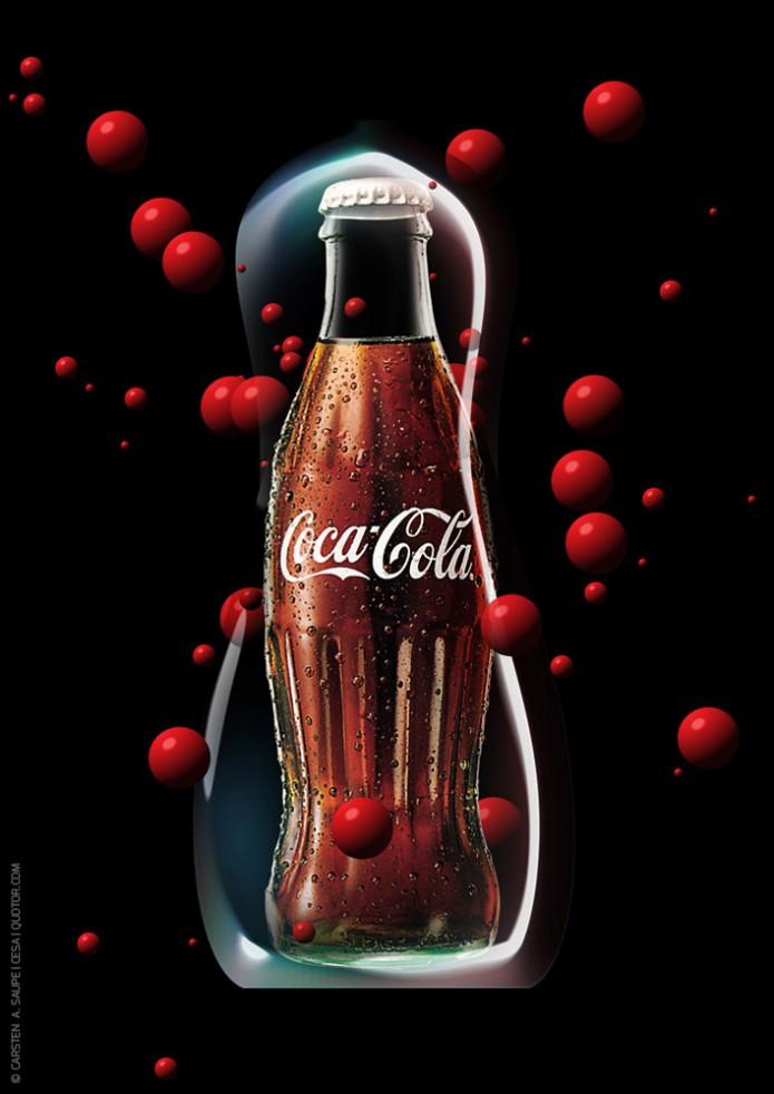 Coca-Cola Artworks Coca-cola-Visuals-Plakat-01-©-Carsten-A-Saupe-CeSa-Quotor-Design