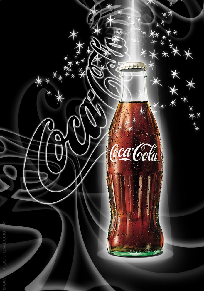 Coca-Cola Kunstgrafiken Coca-cola-Visuals-Plakat-06-©-Carsten-A-Saupe-CeSa-Quotor-Design