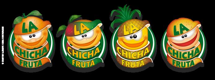 Musik La Chicha Fruta Fruchtiges Design Logo-La-Chicha-Fruta-alle-Logos-©-Carsten-A-Saupe-Quotor-Design