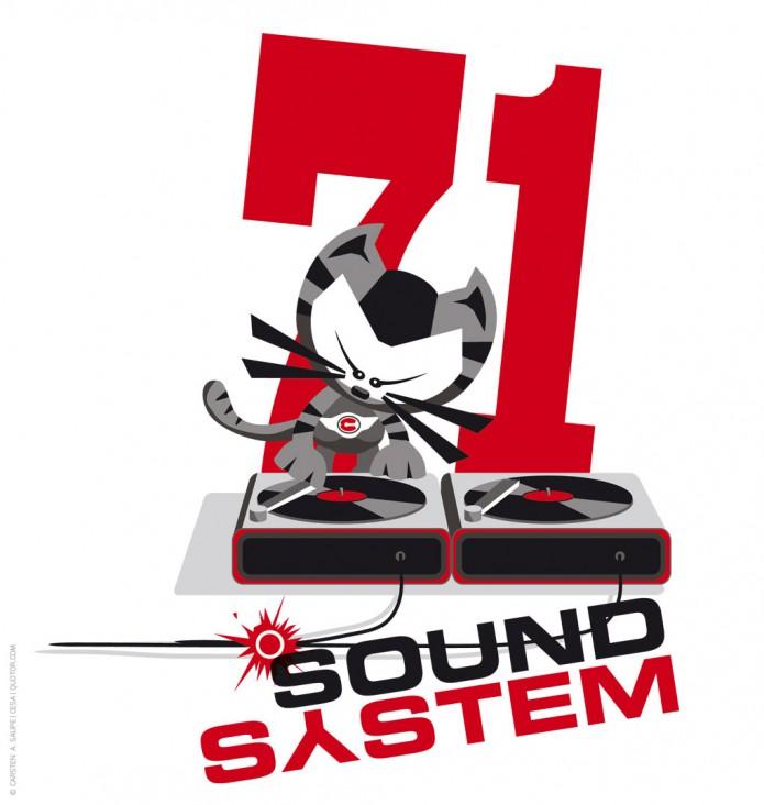 Logo-Sound-System-71-©-Carsten-A-Saupe-CeSa-Quotor-Design