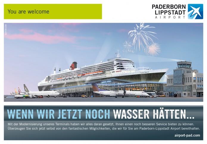 Image Anzeigenkampagne Queen Mary und co Paderborn-Lippstadt-Airport-Anzeigen-Motiv-Queen-Mary-©-Carsten-A-Saupe-CeSa-Quotor-Design