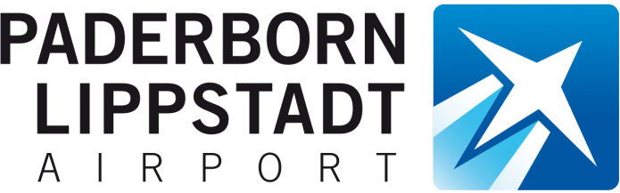 Paderborn Lippstadt Airport Logo von Quotor Design-Logo-Schriftzug-Verlauf-Logo-Verlauf+Spiegelung-©-Carsten-A-Saupe-CeSa-Quotor-Design