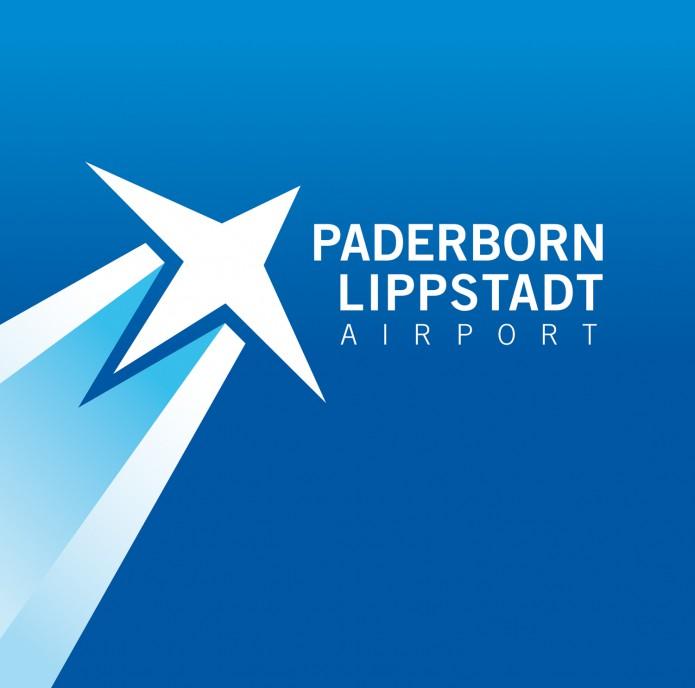 Paderborn Lippstadt Airport Logo von Quotor Design Logo Konzeption und Design Paderborn-Lippstadt-Airport-Logo-Schriftzug-Verlauf-Stern-offen-©-Carsten-A-Saupe-CeSa-Quotor-Design