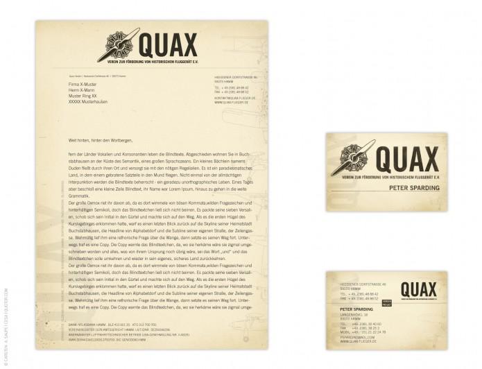 Quax-Flieger-Verein-Geschaeftsausstattung-©-Carsten-A-Saupe-Quotor-Design