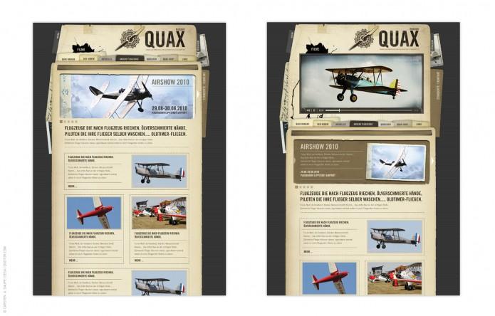 Quax-Flieger-Verein-Homepage-©-Carsten-A-Saupe-Quotor-Design