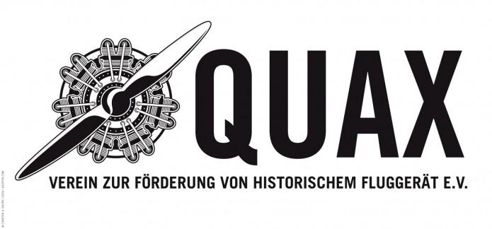 Quax-Flieger-Verein-Logo-SW-©-Carsten-A-Saupe-Quotor-Design