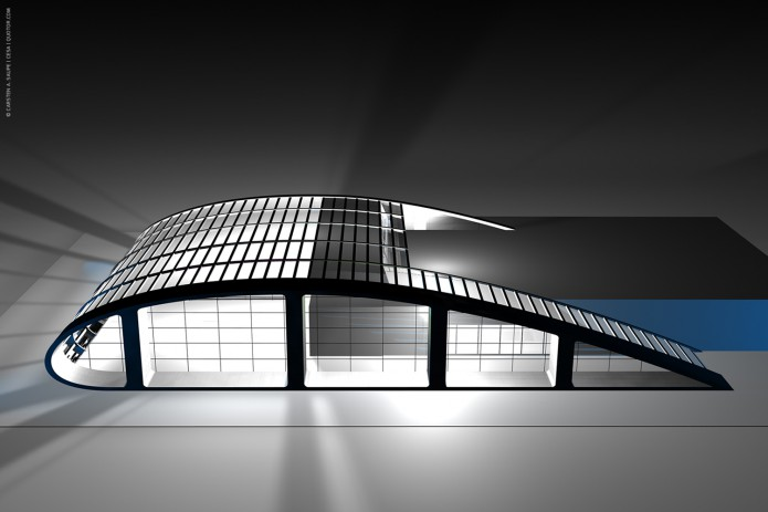 Quotor Design entwirft Quax Hangar Design Quax-Hangar-Entwurf-Bild-02-©-Carsten-A-Saupe-CeSa-Quotor-Design