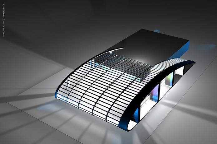 Quotor Design entwirft Quax Hangar Design Quax-Hangar-Entwurf-Bild-03-©-Carsten-A-Saupe-CeSa-Quotor-Design