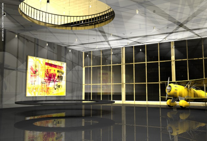 Quotor Design entwirft Quax Hangar Design Quax-Hangar-Entwurf-Bild-07-©-Carsten-A-Saupe-CeSa-Quotor-Design