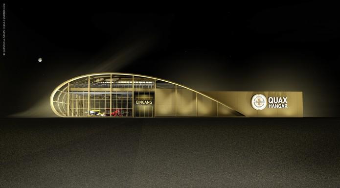 Quotor Design entwirft Quax Hangar Design Quax-Hangar-Entwurf-v2-Bild-01-©-Carsten-A-Saupe-CeSa-Quotor-Design