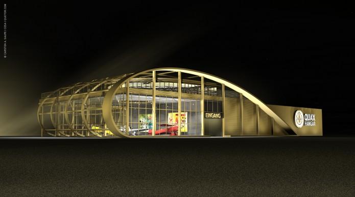 Quotor Design entwirft Quax Hangar Design Quax-Hangar-Entwurf-v2-Bild-02-©-Carsten-A-Saupe-CeSa-Quotor-Design
