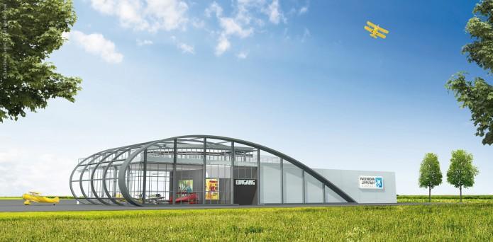 Quotor Design entwirft Quax Hangar Design Quax-Hangar-Entwurf-v2-Bild-03-©-Carsten-A-Saupe-CeSa-Quotor-Design