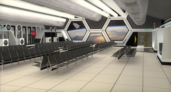 Raumkonzept TXL-Terminal-Star-Wars-Odyssey-2001-Design-Entwurf-Innen-Bild-03-©-Carsten-A-Saupe-CeSa-Quotor-Design