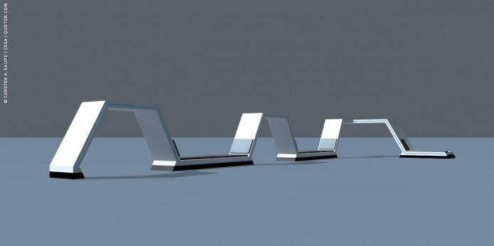 Raumkonzept Star Wars Odyssey 2001 Quotor Design TXL-Terminal-Star-Wars-Odyssey-2001-Design-Entwurf-Innen-Einrichtung-Bild-01-©-Carsten-A-Saupe-CeSa-Quotor-Design