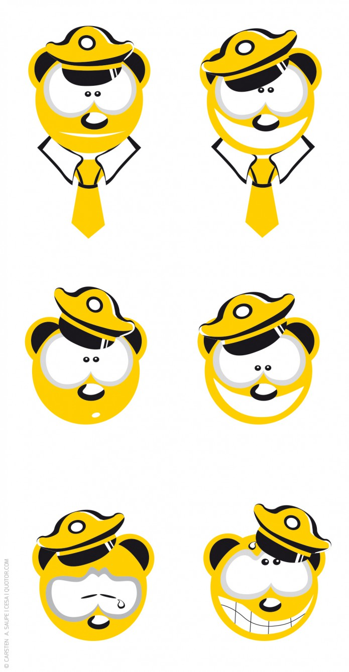 Grafik Design Berliner-Taxi-Baer-Logo-©-Carsten-A-Saupe-CeSa-Quotor-Design_v2