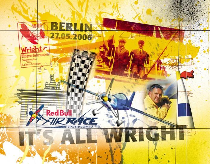 Grossartiges Gastgeschenk RedBull Air Race Kunst_Grafik-Artwork_Red_Bull_Air_Race_Bros_Wright_Pilot_Lamp-©_Artwork_Carsten_A_Saupe-CeSa-Creative_Director_in_Berlin-Quotor_Design