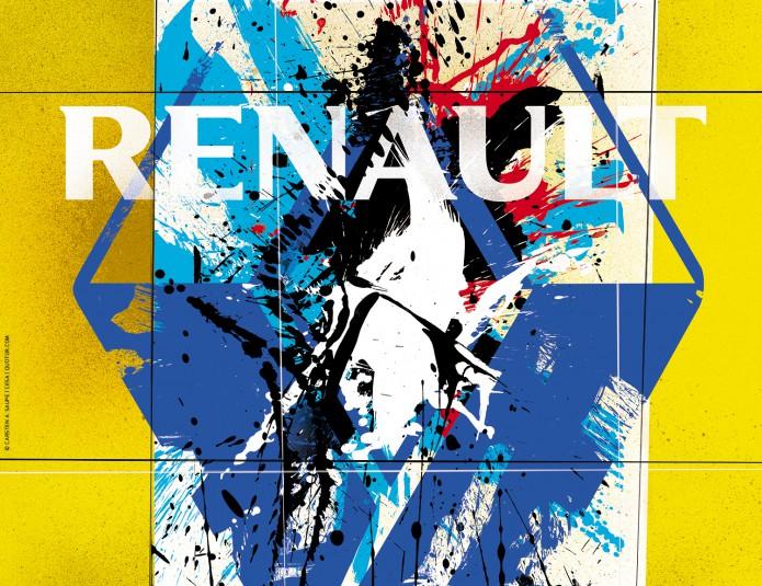 Renault Kunstkalender Kunst_Grafik-Artwork_Renault_Kalender-©_Artwork_Carsten_A_Saupe-CeSa-Creativ_Director_in_Berlin-Quotor_Design