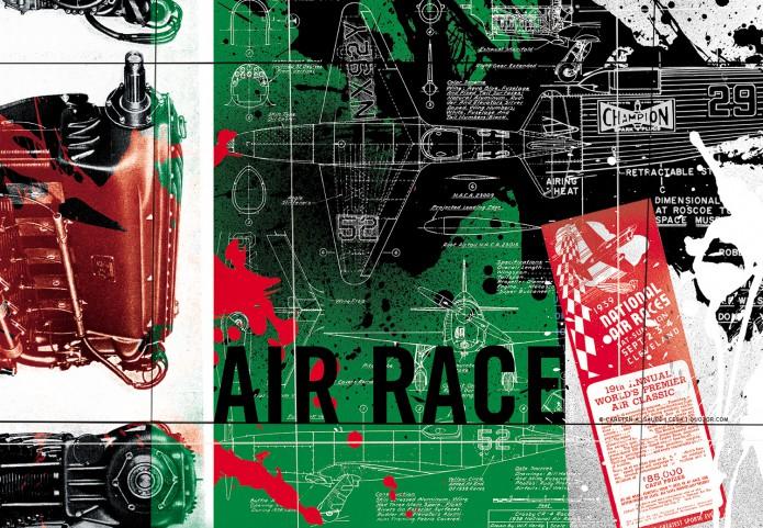 HistoryofAviation Artwork Kunst_Grafik-Aviation_Artwork_Luftfahrt-Air_Race_Championr-©-Carsten-A-Saupe-CeSa-Quotor-Design