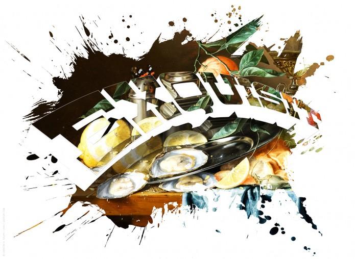 KStillleben Typo Kunstgrafiken Kunst_Grafik-Typo_Stillleben_02-exquisit-©-Carsten-A-Saupe-CeSa-Quotor-Design