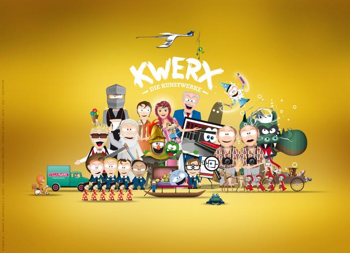 Kwerx – Die Kunstwerke Kwerx_Die_Kunstwerke-Kwerx_Figuren_Kay_Visual_Studio_Pyramide_gelb_ohne_Sterne-©-Kwerx-de-Konzept-M_Drescher-C_Saupe-©-Design-Carsten_A_Saupe-Quotor_Design-1500px