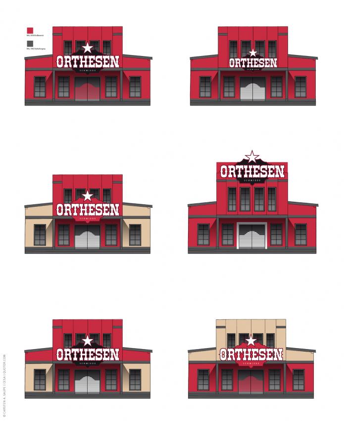 Corporate Identity und neues Logo Orthesen-Schmiede-Forntansicht-Gebäude-©-Carsten-A-Saupe-CeSa-Quotor-Design